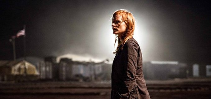 Jassica Chastain nel film Zero Dark Thirty