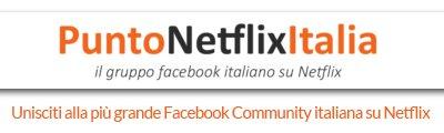Punto Netflix Italia gruppo FB